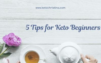 5 Tips for Keto Beginners