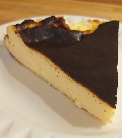 Keto Burnt Basque Lemon Cheesecake