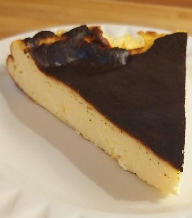 Keto Burnt Basque Lemon Cheesecake