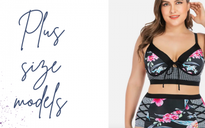 Why don't plus size models have big bellies
